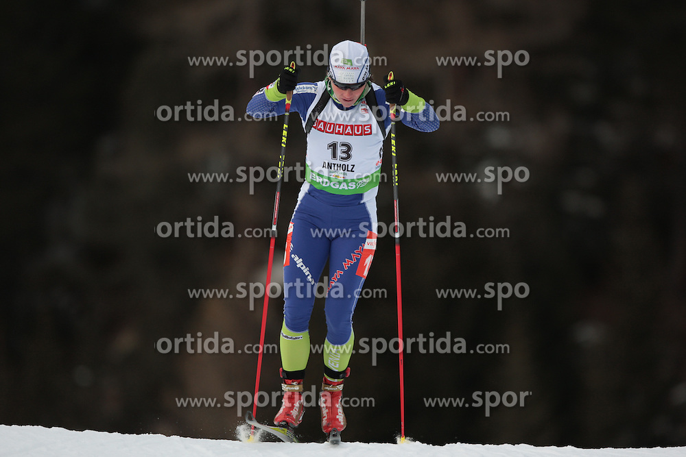 21/01/2011 IBU BIATHLON WORLD CUP 2011 - ANTERSELVA  .MALI Andreja .© Photo Pierre Teyssot / Sportida.com.