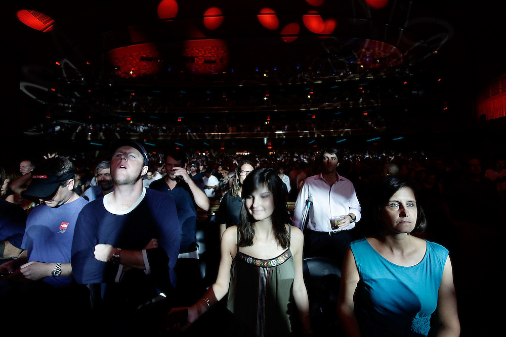 NEW YORK - JULY 22:  Atmosphere during the Widespread Panic concert at Radio City Music Hall on July 22, 2010 in New York City.  (Photo by Joe Kohen/WireImage for New York Post)