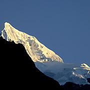 October 2009 WWF Everest - Everest range froim Tengboche