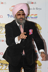Victoria House, London, April 26th 2016.  Hardeep Singh Kohli photographed at the Jazz FM awards at Victoria House, Bloomsbury, London.