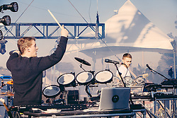 Disclosure perform at The Treasure Island Music Festival - San Francisco, CA - 10/19/13