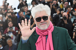 May 18, 2019 - Cannes, France - 72eme Festival International du Film de Cannes. Photocall du film ''Douleur et Gloire''. 72th International Cannes Film Festival. Photocall of ''Dolor y gloria'' movie....239404 2019-05-18  Cannes France.. Almodovar, Pedro (Credit Image: © Serge Arnal/Starface via ZUMA Press)