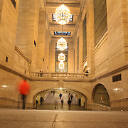 Commuters inside Grand Central Terminal in Manhattan, New York, USA. 29th January 2013. Photo Tim Clayton