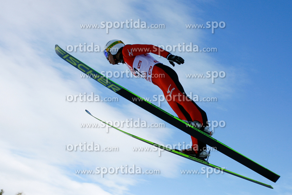 19.01.2013, Casino Arena, Seefeld, AUT, FIS Nordische Kombination, Skisprung, im Bild Nagai Hideaki JPN during Ski Jumping at FIS Nordic Combined World Cup in Seefeld, Austria on 2013/01/19. EXPA Pictures © 2013, PhotoCredit: EXPA/ Federico Modica