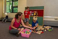 Elm Street School Pre School program.  Karen Bobotas for the Laconia Daily Sun