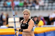 26.8.20112, Hiihtostadion, Lahti..Yleisurheilun Kalevan Kisat 2012. .Naisten seiväs..Aino Siitonen - Helsingin Kisa-Veikot