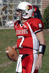 14 October 2006: Luke Drone.&amp;#xD;The 6th largest crowd at Hancock Stadium came to watch a game that put 8th ranked Southern Illinois Salukis against 5th ranked Illinois State University Redbirds.  The Redbirds stole the show for a Homecoming win by a score of 37 - 10. Competition commenced at Hancock Stadium on the campus of Illinois State University in Normal Illinois.<br />