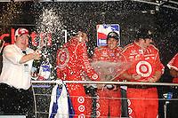 Dario Franchitti,wins championship, Homestead Miami Speedway, Homestead, FL USA 10/10/09