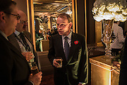 ANDREW MARR, The launch of the 1939 Register, hosted by The National Archives and Findmypast to celebrate one of the most important documents in modern British history. POMPADOUR BALLROOM, HOTEL CAFÉ ROYAL<br /> 68 Regent Street, London. 3 November 2015