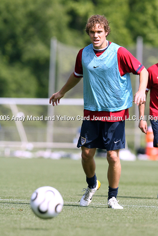 Chris Albright on Wednesday, May 17th, 2006 at SAS Soccer Park in Cary, North Carolina. The United States Men's National Soccer Team held a training session as part of their preparations for the upcoming 2006 FIFA World Cup Finals being held in Germany.