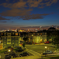 South Boston view of the Boston skyline at sunset showing parts of the Dorchester Heights neighborhood and the Beantown Hub in the backdrop.   <br /> <br /> This Southie Boston photos at sunset is available as museum quality photography prints, canvas prints, acrylic prints or metal prints. Fine art prints may be framed and matted to the individual liking and room decoration project need: <br /> <br /> https://juergen-roth.pixels.com/featured/south-boston-juergen-roth.html<br /> <br /> All photographs are available for digital and print image licensing at www.RothGalleries.com. Please contact me direct with any questions or request.<br /> <br /> Good light and happy photo making!<br /> <br /> My best,<br /> <br /> Juergen<br /> Prints: http://www.rothgalleries.com<br /> Photo Blog: http://whereintheworldisjuergen.blogspot.com<br /> Twitter: @NatureFineArt<br /> Instagram: https://www.instagram.com/rothgalleries<br /> Facebook: https://www.facebook.com/naturefineart
