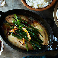ginger scallion baked fish
