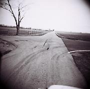 Sabina, Ohio as seen through the plastic lens of a Holga.