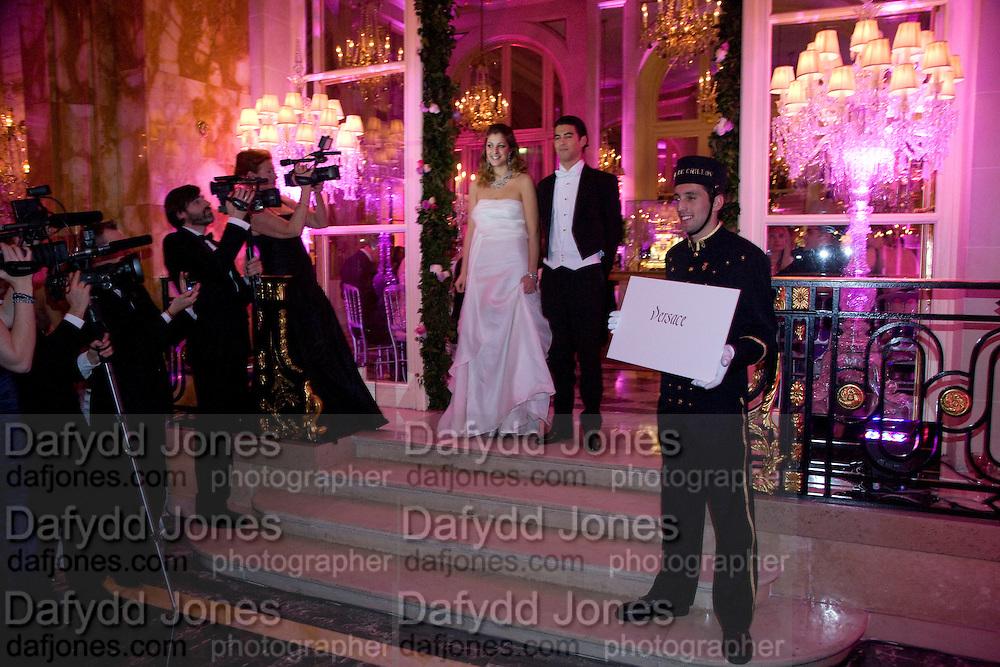 COMPTESSE TATIANA DE PAHLEN; ASKHAN BAGHESTANI, The 2008 Crillon Debutante Ball, Crillon Hotel. Paris. 29 November 2008 *** Local Caption *** -DO NOT ARCHIVE -Copyright Photograph by Dafydd Jones. 248 Clapham Rd. London SW9 0PZ. Tel 0207 820 0771. www.dafjones.com