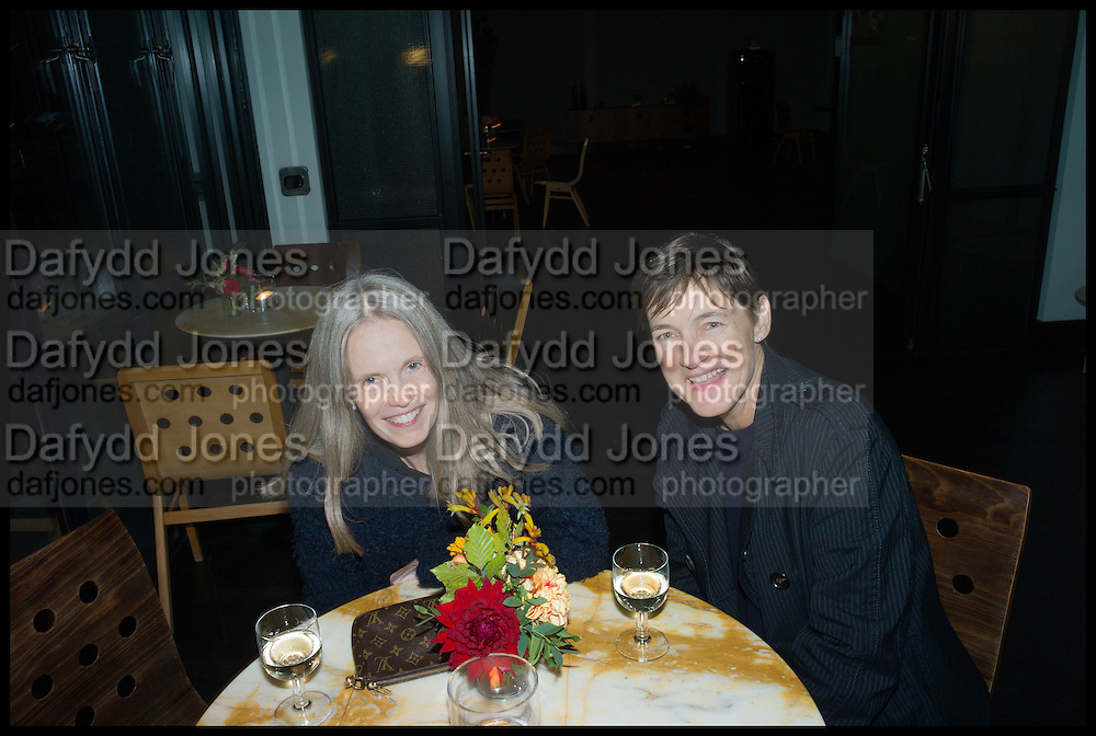 PAULINE DALY; SADIE COLES, Frieze party, ACE hotel Shoreditch. London. 18 October 2014