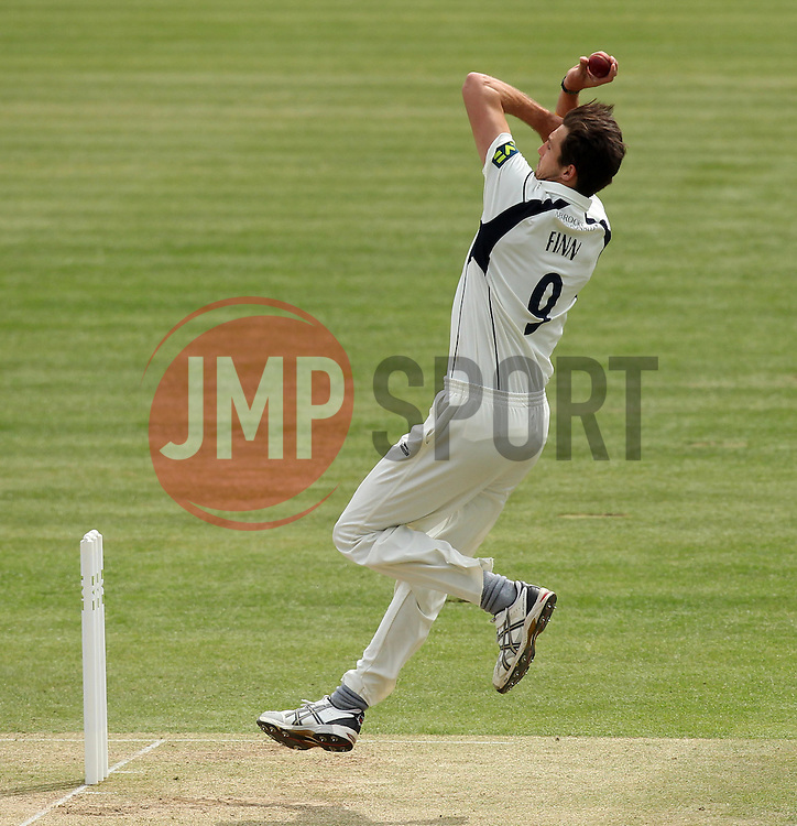 Middlesex's Steven Finn bowls - Photo mandatory by-line: Robbie Stephenson/JMP - Mobile: 07966 386802 - 04/05/2015 - SPORT - Football - London - Lords  - Middlesex CCC v Durham CCC - County Championship Division One