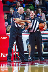 NORMAL, IL - November 29: Scott Tierney and Mike O'Neill during a college basketball game between the ISU Redbirds and the Prairie Stars of University of Illinois Springfield (UIS) on November 29 2019 at Redbird Arena in Normal, IL. (Photo by Alan Look)