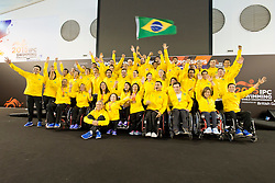 Team Brazil BRA at 2015 IPC Swimming World Championships -