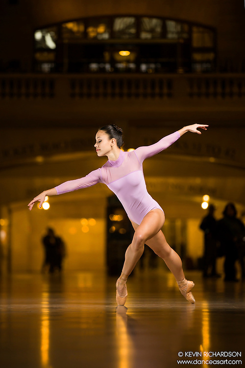 Dance As Art The New York Photography Project Grand Central Series with Olivia Miranda