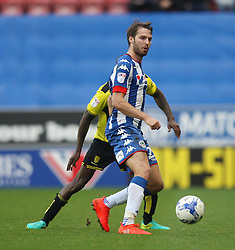 Nick Powell of Wigan Athletic in action - Mandatory by-line: Jack Phillips/JMP - 15/10/2016 - FOOTBALL - DW Stadium - Wigan, England - Wigan Athletic v Burton Albion - EFL Championship
