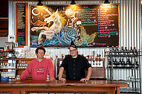 Owners of the Fort George Brewery in Astoria, Oregon.