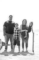 Filiere Family portraits at Dinsmoor Point cotage.  ©2019 Karen Bobotas Photographer