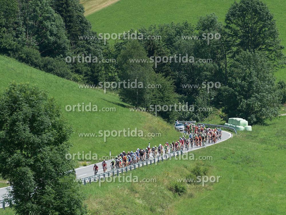 05.07.2015, Scheibbs, AUT, Österreich Radrundfahrt, 1. Etappe, Mörbisch nach Scheibbs, im Bild Hauptfeld // maingroup during the Tour of Austria, 1st Stage, from Mörbisch to Scheibbs, Scheibbs, Austria on 2015/07/05. EXPA Pictures © 2015, PhotoCredit: EXPA/ Reinhard Eisenbauer