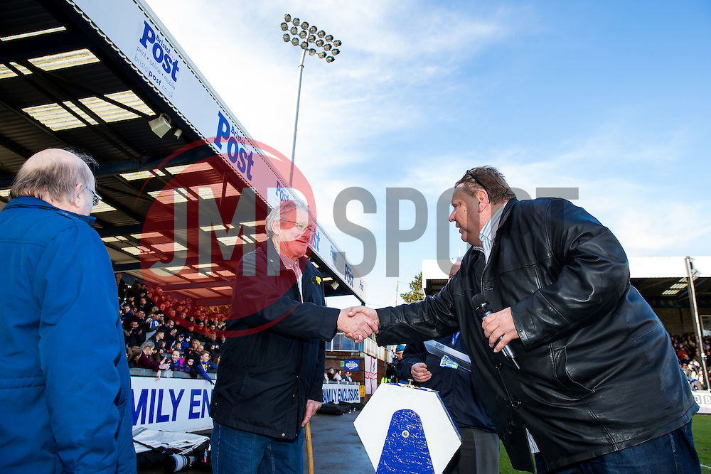 Half time draw - Rogan Thomson/JMP - 28/01/2017 - FOOTBALL - Memorial Stadium - Bristol, England - Bristol Rovers v Swindon Town - Sky Bet League One.