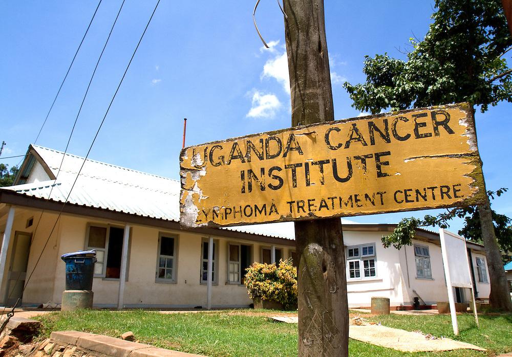 Sign at Mulago Hospital, Kampala, Uganda