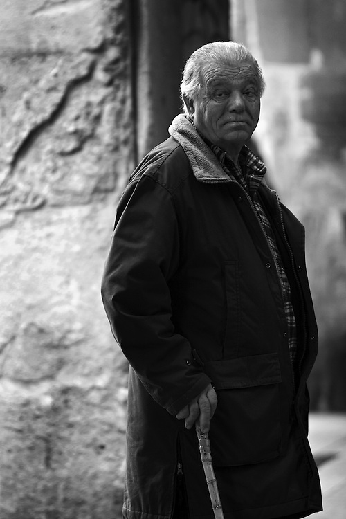 Man in Bologna.