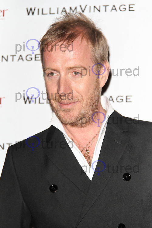 LONDON - FEBRUARY 10: Rhys Ifans attends the WilliamVintage and Gillian Anderson private dinner at the St Pancras Renaissance Hotel, London, UK on February 10, 2012. (Photo by Richard Goldschmidt)