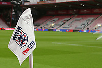 Football - 2018 / 2019 Under-21 International Friendly - England U21 vs. Germany U21<br /> <br /> An England corner flag stands proud at The Vitality Stadium (Dean Court) Bournemouth England<br /> <br /> COLORSPORT/SHAUN BOGGUST