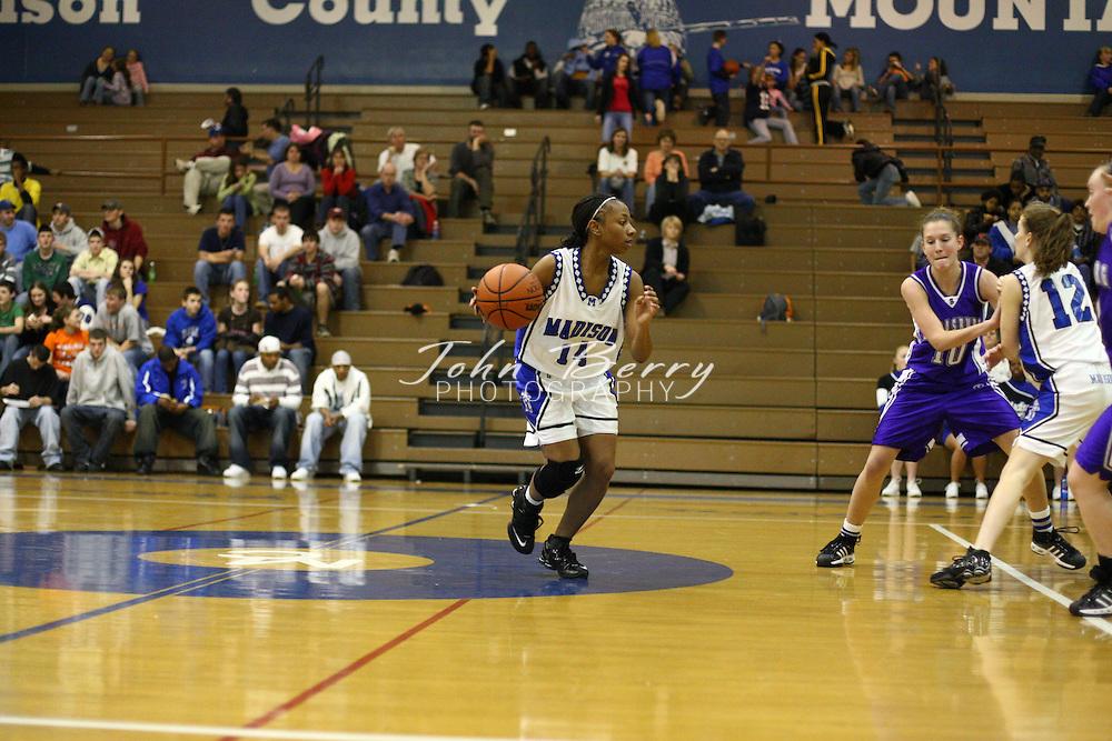 MCHS Varsity Girls Basketball.vs Strasburg.1/29/2008..
