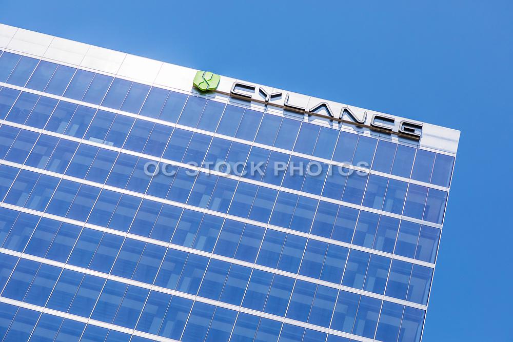 Cylance Glass Building In Irvine Spectrum Business Center