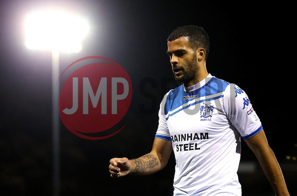 Jacob Mellis of Bury - Mandatory by-line: Robbie Stephenson/JMP - 24/10/2016 - FOOTBALL - Gigg Lane - Bury, England - Bury v Bolton Wanderers - Sky Bet League One