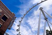 The Ferris wheel at the Linq hotel and Promenade Las Vegas, Nevada, USA