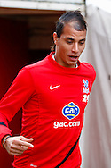 Picture by David Horn/Focus Images Ltd +44 7545 970036<br /> 09/11/2013<br /> Marouane Chamakh of Crystal Palace before the Barclays Premier League match at Selhurst Park, London.