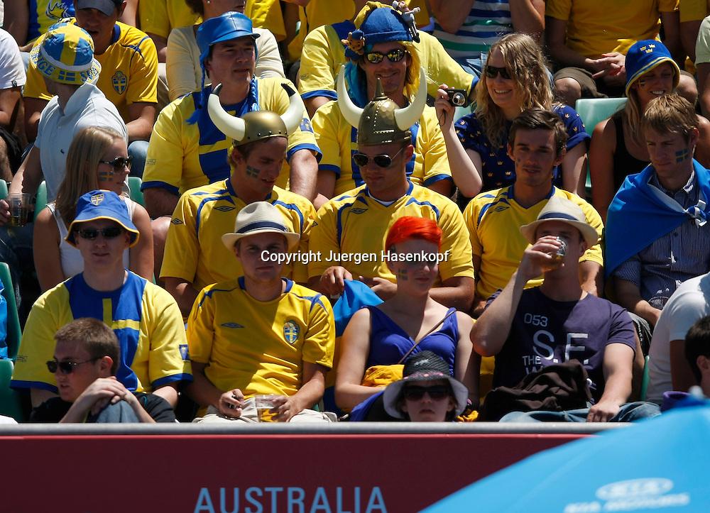 Australien, Melbourne, Sport, Tennis, Grand Slam Tournament, Melbourne Park, Australian Open 2010,..Dieter Kindlmann (GER),..Foto: Juergen Hasenkopf..