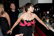 KRISTIN SCOTT THOMAS, Comedy Theatre First night party for Betrayal by Harold Pinter. National Gallery Cafe. Trafalgar Sq. London. <br /> <br />  , -DO NOT ARCHIVE-© Copyright Photograph by Dafydd Jones. 248 Clapham Rd. London SW9 0PZ. Tel 0207 820 0771. www.dafjones.com.