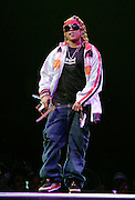 Rapper Da Brat hosts as part of the Screamfest 2007 tour stop at Madison Square Garden on Wednesday, August 22, 2007 in New York.