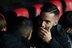 January 16, 2019 - Sevilla, Andalucia, Spain - Pablo Sarabia of Sevilla FC in the previous of the Copa del Rey match between Sevilla FC v Athletic Club at the Ramon Sanchez Pizjuan Stadium on January 16, 2019 in Sevilla, Spain (Photo by Javier Montaño/Pacific Press) (Credit Image: © Javier MontañO/Pacific Press via ZUMA Wire)