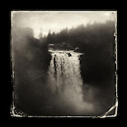 "Charles Blackburn Instagram image of Snoqualmie in Washington state. 5x5"" print."