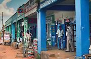 A street scene from Kitale, Kenya. Circa 1983.
