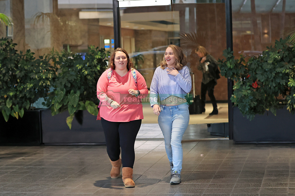 """EXCLUSIVE: Mama June's children are pictured just before they underwent a dramatic plastic surgery makeover. Anna Cardwell and Jessica Shannon of Gordon, Georgia, were pictured in LA before they went under the knife and had extensive dental work. Anna, 25, who separated from her husband Michael three-years-ago, has had a breast lift and implants with 400cc Allergen Breast Implants and has seen her boob size go from a B to a 36D cup. The $17,000 surgery was performed by Dr Michael K Obeng of Beverly Hills. She also had 16 veneers - eight on the top and eight on the bottom - by Dr Aamir Wahab of Beverly Hills at a cost of $30,000. A source said: """"Anna has 2 daughters from her previous relationships, Kaitlyn 7 years old and Kylee 4 years old. Anna has a new man in her life, Eldridge Toney and they reside in Gordon, Georgia with Anna's 2 kids. Anna wanted to re-invent herself to help boost her self esteem, so she flew to California for a Beverly Hills makeover."""" Jessica, 23, who weighed 239lbs, wanted a curvy body and is said to want to become a plus size model. She underwent the knife with dr Samuel Kashani of Beverly Hills who inserted the Orbera Balloon into her stomach to help with Jessica's weight loss journey. The cost of that surgery was $17,000. Additionally Dr Michael K Obeng also performed 360 liposuction on her abs, flanks, back and bra area as well as a Tummy Tuck. Jessica lost 40lbs just from the $30,000 surgery and will continue to lose over the next few months Jessica also now has a Hollywood smile after having eight veneers fitted to her top teeth and laser whitening on the bottom teeth at a cost of $17,000 fitted by Dr Aamir Wahab of Beverly Hills. A source said:"""" Jessica is single and ready to meet a man and would love to be a plus size model. Jessica flew to California with her sister Anna and underwent an extensive makeover. Jessica weighed 239lbs and she wanted a curvy body with a flat stomach."""" photos taken February 20th 2020. 03 Mar"""