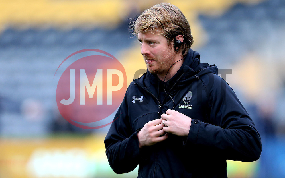 Worcester Warriors' defence coach, Simon Cross - Mandatory by-line: Robbie Stephenson/JMP - 28/01/2017 - RUGBY - Sixways Stadium - Worcester, England - Worcester Warriors v Harlequins - Anglo Welsh Cup