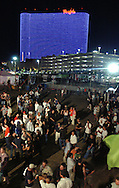 "ATLANTIC CITY, NJ - JUNE 26: The audience awaits Velvet Revolver's performance at the Maxim Magazine Presents ""Fantasy Island"" at the Borgata Hotel Casino and Spa June 26, 2004 in Atlantic City, New Jersey. The event consisted of two music stages and four unique themed areas, providing a wide array of entertainment for guests; South Beach Venice Beach, Stuffland, and The Oasis. (Photo by William Thomas Cain/Getty Images)"