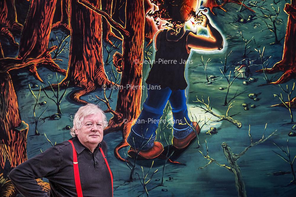 Nederland, Amsterdam, 23 mei 2016.<br />OPWINDING - EEN TENTOONSTELLING VAN RUDI FUCHS<br />27 MEI - 2 OKT 2016<br />Oud-directeur Rudi Fuchs kijkt terug op zijn lange loopbaan als museumdirecteur en tentoonstellingsmaker.InOpwindinggaat het om het ontdekken en beter leren kennen van kunstwerken.Fuchs neemt de bezoeker mee in zijn manier van kijken, die draait om tijd, geduld en zorgvuldigheid.<br /><br /><br /><br /><br />Foto: Jean-Pierre Jans