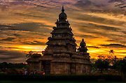 Shore Temple, Mamallapuram, Tamil Nadu, India