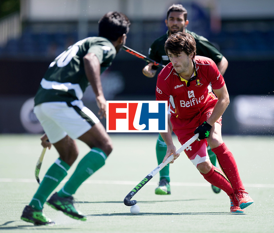BREDA - Rabobank Hockey Champions Trophy<br /> 5th/6th place Belgium - Pakistan<br /> Photo: Arthur van Doren.<br /> COPYRIGHT WORLDSPORTPICS FRANK UIJLENBROEK