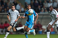 Photo: Adam Davies.<br />Swansea City v Wycombe Wanderers. Carling Cup. <br />22/08/2006.<br />Wycombe's Kevin Betsy (C).